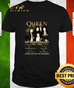 Hot Queen 50th anniversary 1970 2020 thank you for the memories shirt 1 1 247x296 - Hot Queen 50th anniversary 1970-2020 thank you for the memories shirt