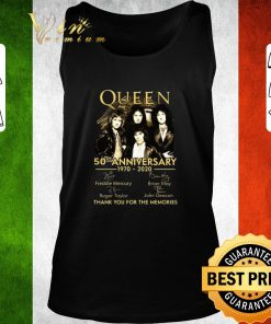 Hot Queen 50th anniversary 1970 2020 thank you for the memories shirt 2 1 247x296 - Hot Queen 50th anniversary 1970-2020 thank you for the memories shirt