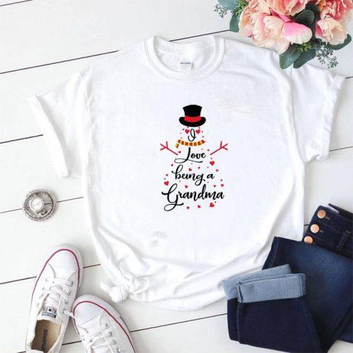 Hot Snowman I love being a grandma shirt 1 1 510x510 - Hot Snowman I love being a grandma shirt