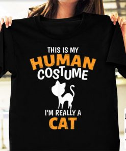 Hot This is My Human Costume I m Really A Cat Funny Halloween shirt 1 1 1 247x296 - Hot This is My Human Costume I'm Really A Cat Funny Halloween shirt