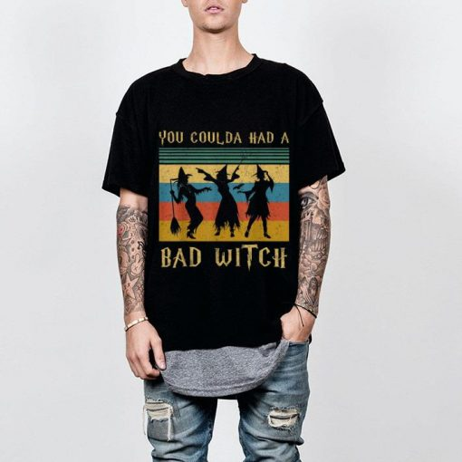 Hot Vintage Coulda Had A Bad Witch Halloween shirt 2 1 510x510 - Hot Vintage Coulda Had A Bad Witch Halloween shirt