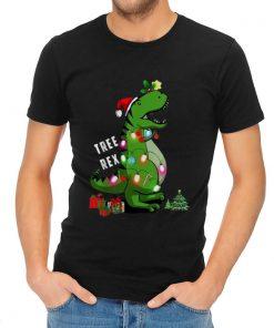 Nice Christmas Tree T rex Dinosaur shirt 2 1 247x296 - Nice Christmas Tree T-rex Dinosaur shirt