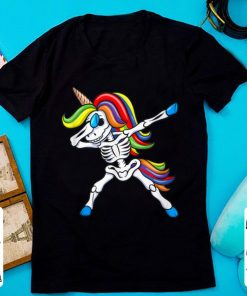 Nice Dabbing Skeleton Unicorn Kids Girls Halloween Gift Dab shirt 1 1 247x296 - Nice Dabbing Skeleton Unicorn Kids Girls Halloween Gift Dab shirt