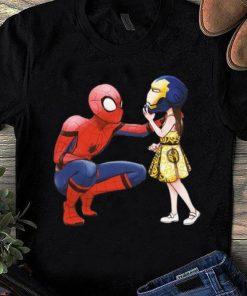 Nice Peter Parker Spiderman And Morgan Stark shirt 1 1 247x296 - Nice Peter Parker Spiderman And Morgan Stark shirt