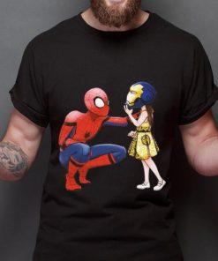 Nice Peter Parker Spiderman And Morgan Stark shirt 2 1 247x296 - Nice Peter Parker Spiderman And Morgan Stark shirt