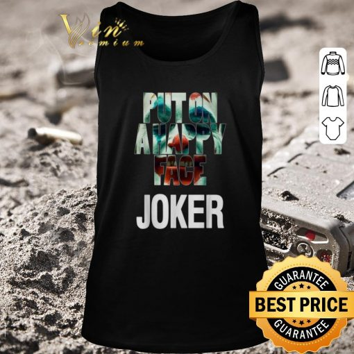 Nice Put on a happy face Joker shirt 2 1 510x510 - Nice Put on a happy face Joker shirt