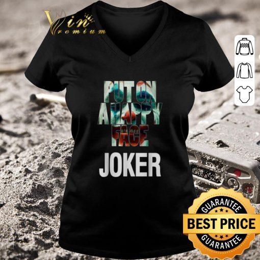 Nice Put on a happy face Joker shirt 3 1 510x510 - Nice Put on a happy face Joker shirt