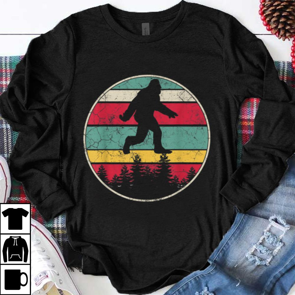 Official Bigfoot Sasquatch Vintage Retro 70's 80's Style Men Dad shirt