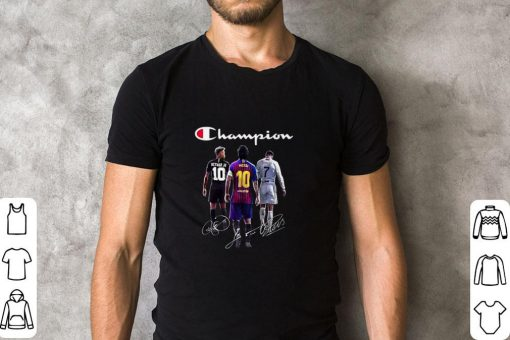 Official Champion Neymar Jr Lionel Messi Cristiano Ronaldo Signatures shirt 2 1 510x340 - Official Champion Neymar Jr Lionel Messi Cristiano Ronaldo Signatures shirt