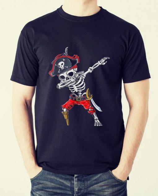 Official Dabbing Skeleton Pirate Halloween Kids Jolly Roger shirt 2 1 510x634 - Official Dabbing Skeleton Pirate Halloween Kids Jolly Roger shirt