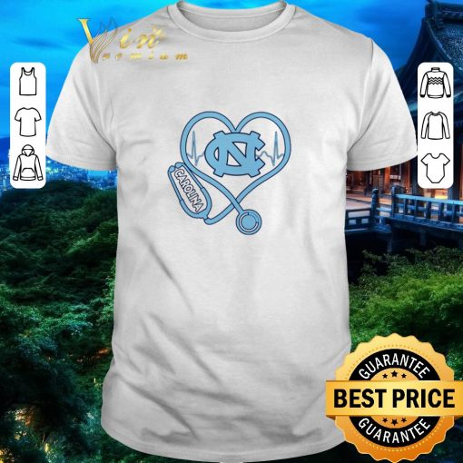 Official Heartbeat Nurse love North Carolina Tar Heels shirt 1 1 510x510 - Official Heartbeat Nurse love North Carolina Tar Heels shirt
