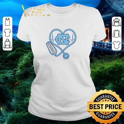 Official Heartbeat Nurse love North Carolina Tar Heels shirt 2 1 510x510 - Official Heartbeat Nurse love North Carolina Tar Heels shirt