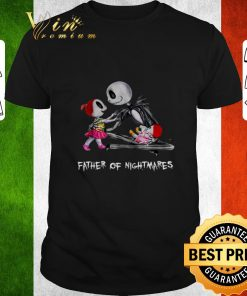 Official Jack Skellington two girl father of nightmares shirt 1 1 247x296 - Official Jack Skellington two girl father of nightmares shirt