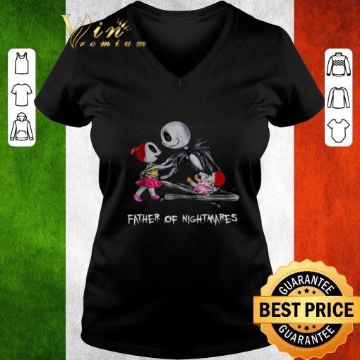Official Jack Skellington two girl father of nightmares shirt 3 1 510x510 - Official Jack Skellington two girl father of nightmares shirt