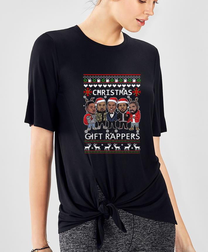 Official Rappers Wrappers Christmas Gift shirt