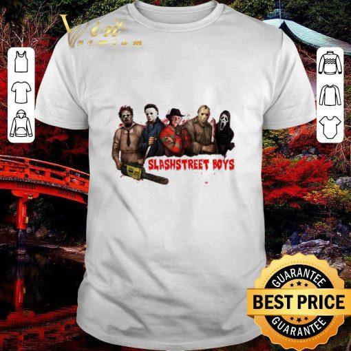 Official Slashstreet Boys horror movie characters shirt 1 1 510x510 - Official Slashstreet Boys horror movie characters shirt