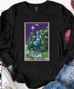 Official The Star Tarot Card Halloween Mermaid Witch Creepy Siren shirt 1 1 247x296 - Official The Star Tarot Card Halloween Mermaid Witch Creepy Siren shirt