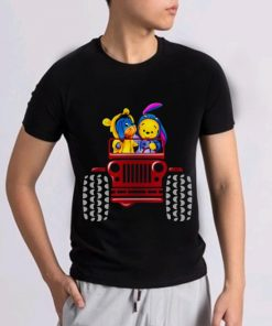 Official Winnie The Pooh Tiger And Eeyore Jeep shirt 2 1 247x296 - Official Winnie The Pooh Tiger And Eeyore Jeep shirt