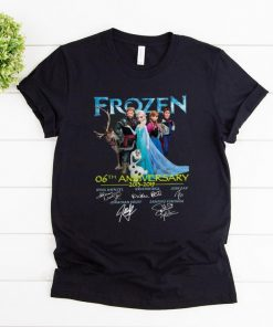 Original 06th Anniversary Frozen 2013 2019 shirt 1 1 247x296 - Original 06th Anniversary Frozen 2013-2019 shirt