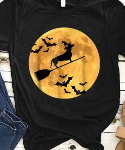 Original Dachshund Witch Dog Halloween Moon Broomstick Broom shirt 1 1 247x296 - Original Dachshund Witch Dog Halloween Moon Broomstick Broom shirt