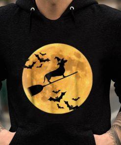 Original Dachshund Witch Dog Halloween Moon Broomstick Broom shirt 2 1 247x296 - Original Dachshund Witch Dog Halloween Moon Broomstick Broom shirt