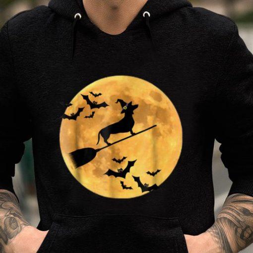 Original Dachshund Witch Dog Halloween Moon Broomstick Broom shirt 2 1 510x510 - Original Dachshund Witch Dog Halloween Moon Broomstick Broom shirt