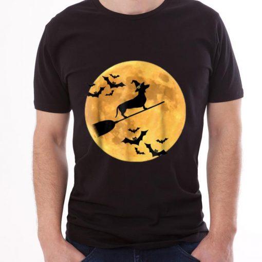 Original Dachshund Witch Dog Halloween Moon Broomstick Broom shirt 3 1 510x510 - Original Dachshund Witch Dog Halloween Moon Broomstick Broom shirt