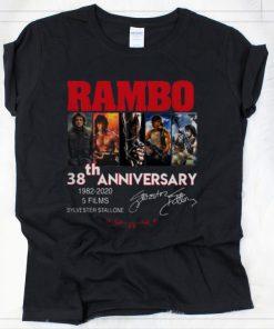 Original Rambo 38 Years 1982 2020 5 Films Signatures shirt 2 1 247x296 - Original Rambo 38 Years 1982-2020 5 Films Signatures shirt