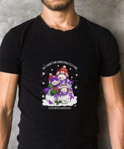 Original Snowman all I want for Christmas is a cure Alzheimer s Awareness shirt 2 1 247x296 - Original Snowman all I want for Christmas is a cure Alzheimer's Awareness shirt