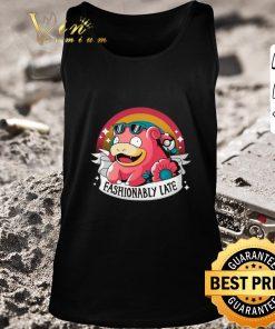Premium Fashionably late Slowpoke pokemon shirt 2 1 247x296 - Premium Fashionably late Slowpoke pokemon shirt