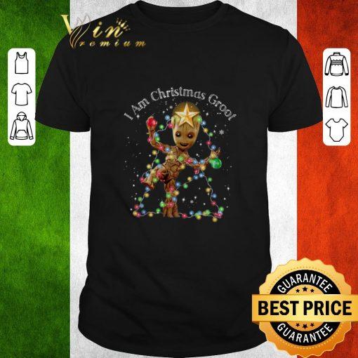 Premium I Am Christmas Groot Christmas Lights shirt 1 1 510x510 - Premium I Am Christmas Groot Christmas Lights shirt