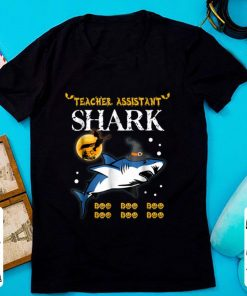 Premium Teacher Assistant Shark Boo Boo Boo halloween shirt 1 1 247x296 - Premium Teacher Assistant Shark Boo Boo Boo halloween shirt