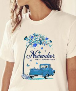 Premium Tree Truck November Diabetes Month Butterfly Blue Ribbon shirt 2 1 247x296 - Premium Tree Truck November Diabetes Month Butterfly Blue Ribbon shirt