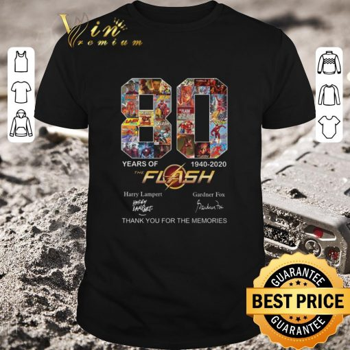 Pretty 80 years of The Flash 1940 2020 thank you for the memories shirt 1 1 510x510 - Pretty 80 years of The Flash 1940-2020 thank you for the memories shirt