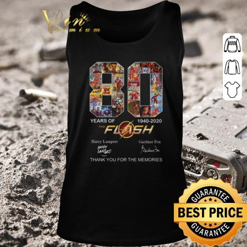 Pretty 80 years of The Flash 1940 2020 thank you for the memories shirt 2 1 510x510 - Pretty 80 years of The Flash 1940-2020 thank you for the memories shirt