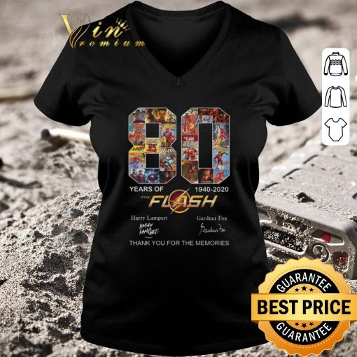 Pretty 80 years of The Flash 1940 2020 thank you for the memories shirt 3 1 510x510 - Pretty 80 years of The Flash 1940-2020 thank you for the memories shirt