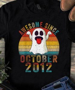 Pretty Awesome Since October 2012 Birthday Gift Boo Ghost Halloween shirt 1 1 247x296 - Pretty Awesome Since October 2012 Birthday Gift Boo Ghost Halloween shirt