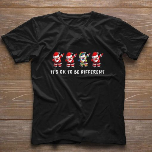 Pretty Dabbing Santa Autism It s ok to be different shirt 1 1 510x510 - Pretty Dabbing Santa Autism It's ok to be different shirt