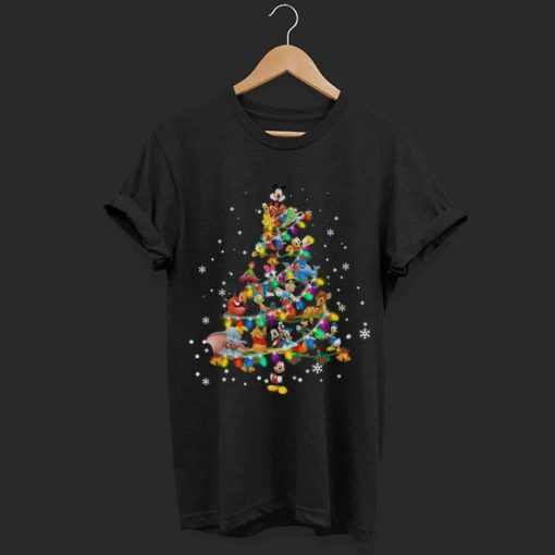 Pretty Disney Characters Christmas Tree shirt 1 1 510x510 - Pretty Disney Characters Christmas Tree shirt