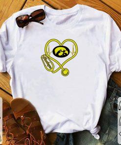 Pretty Heartbeat love Lowa Hawkeyes nurse shirt 1 1 247x296 - Pretty Heartbeat love Lowa Hawkeyes nurse shirt