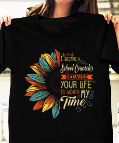Pretty I Became A School Counselor Because Your Life Is Worth Time shirt 1 1 247x296 - Pretty I Became A School Counselor Because Your Life Is Worth Time shirt