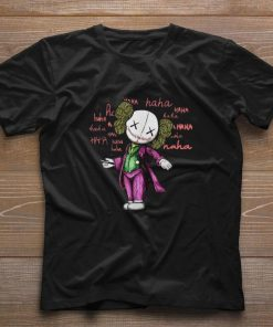 Pretty Kaws Mashup Joker Haha shirt 1 1 247x296 - Pretty Kaws Mashup Joker Haha shirt