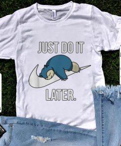 Pretty Nike Snorlax Just Do It Later shirt 1 1 247x296 - Pretty Nike Snorlax Just Do It Later shirt