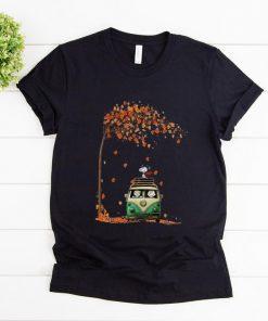Pretty Snoopy With Friends Hippie Car Autumn Leaf shirt 1 1 247x296 - Pretty Snoopy With Friends Hippie Car Autumn Leaf shirt