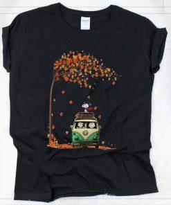 Pretty Snoopy With Friends Hippie Car Autumn Leaf shirt 2 1 247x296 - Pretty Snoopy With Friends Hippie Car Autumn Leaf shirt