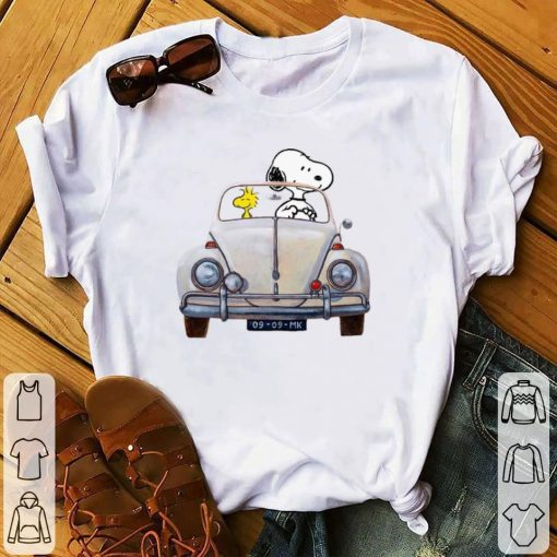 Pretty Snoopy and woodstock driving Volkswagen Beetle shirt 1 1 510x510 - Pretty Snoopy and woodstock driving Volkswagen Beetle shirt