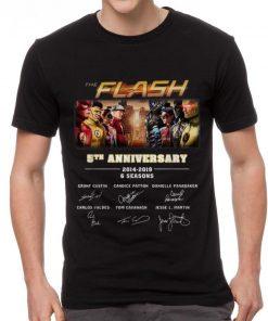 Pretty The Flash 5th Anniversary 2014 2019 6 Seasons Signatures shirt 2 1 247x296 - Pretty The Flash 5th Anniversary 2014-2019 6 Seasons Signatures shirt