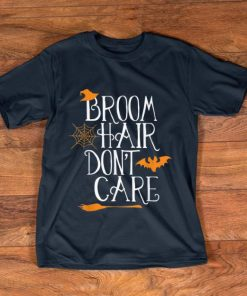 Pretty Witch Halloween Gift Funny Broom Hair Don t Care Girls Kids shirt 1 1 247x296 - Pretty Witch Halloween Gift Funny Broom Hair Don't Care Girls Kids shirt