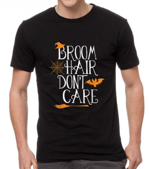 Pretty Witch Halloween Gift Funny Broom Hair Don t Care Girls Kids shirt 2 1 510x578 - Pretty Witch Halloween Gift Funny Broom Hair Don't Care Girls Kids shirt
