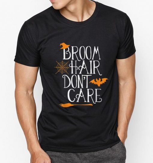 Pretty Witch Halloween Gift Funny Broom Hair Don t Care Girls Kids shirt 3 1 510x543 - Pretty Witch Halloween Gift Funny Broom Hair Don't Care Girls Kids shirt
